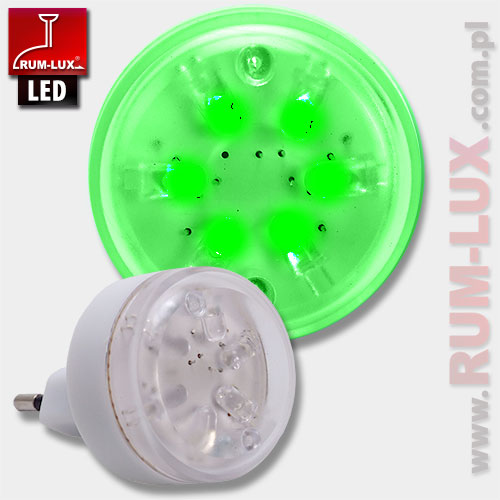 mini lampka iskierka [zielona]